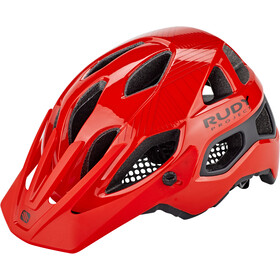 Rudy Project Protera Kask rowerowy, red-black shiny-matte